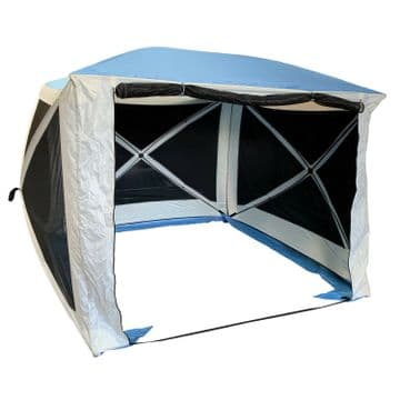 INSTANT 4 POP UP SPRING QUICK ERECT SCREEN HOUSE SHELTER GAZEBO screenhouse